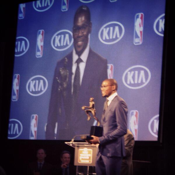 Gracious. Committed. Dedicated to faith, family, team and community. @KDtrey5 inspires us all. #OKCsMVP http://t.co/im6ekptDCE