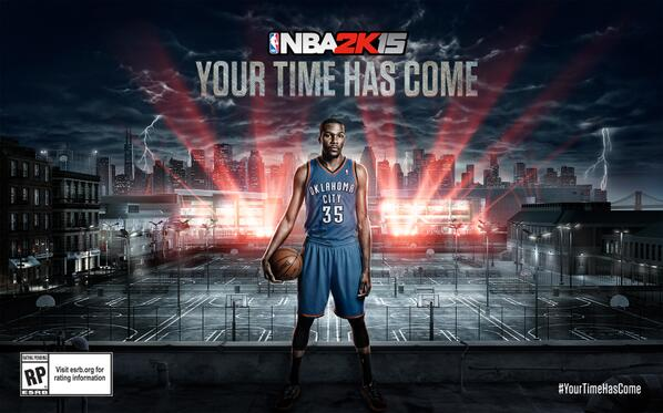 .@KDTrey5 is your #NBA2K15 cover athlete and league MVP. RT! #YourTimeHasCome http://t.co/znET6VftXz