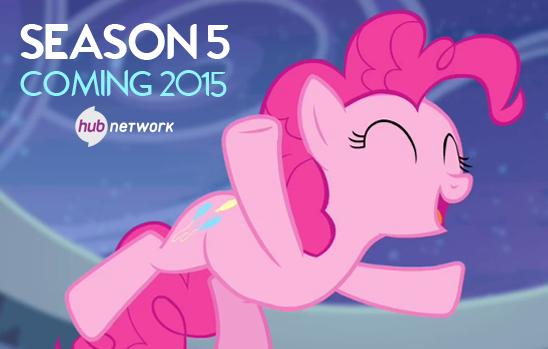 BREAKING: #MLPSeason5, coming 2015!! RT if you already can't wait! http://t.co/6oZEBArLxM