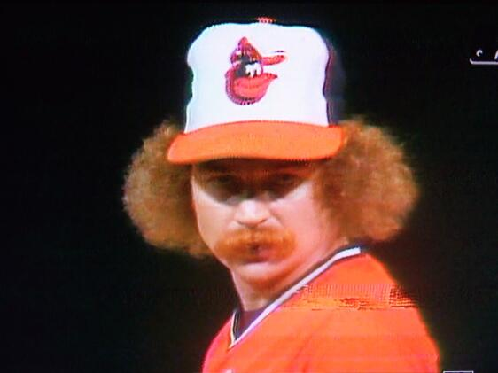Don Stanhouse, Orioles Pitcher, 1979, Ginger god. http://t.co/FjsQSOwKSG