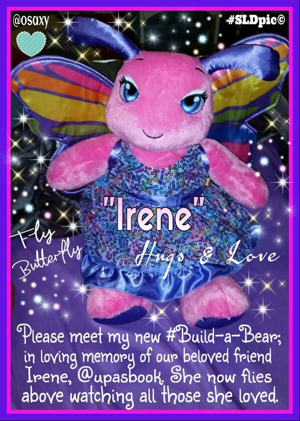 PLEASE share this in loving memory of our dear #spoonie friend Irene,  @upasbook. We love & miss you! http://t.co/7pQHgG5NtX