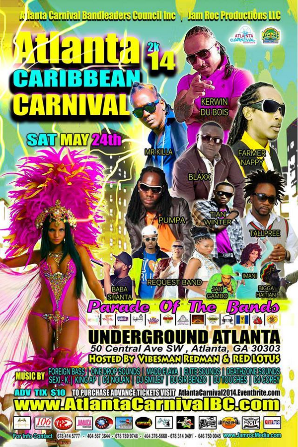 ATL Caribbean Carnival Sat 5.24.14 @ UNDERGROUND ATLANTA. CARNIVAL in the #AIR!!! For info http://t.co/hhUUSzicT8 http://t.co/cT69Cx4IpF