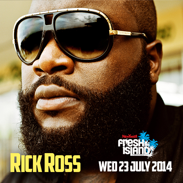 [ BREAKING NEWS ] Fresh Island Festival is proud to announce our latest headliner, the one and only BOSS, Rick Ross! http://t.co/97nMkpKjzy