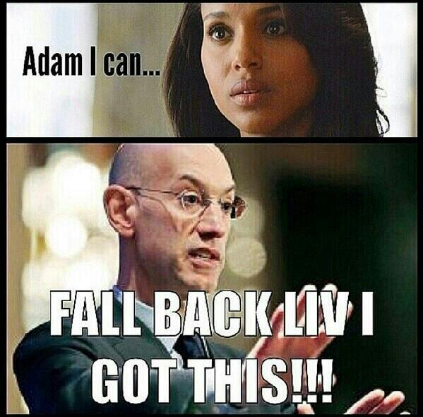 "Faith Jenkins (@faithjenkins1): Yass #AdamSilver said 'it's handled.' #scandal RT ""@LosMurillo126: @kerrywashington http://t.co/TGsx7O8Y5N"""