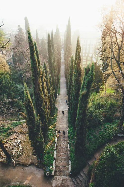 Giusti gardens in Verona, Italy http://t.co/OAETrKFFjr