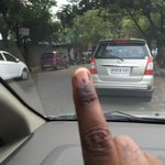 Summer heat ..Did not want to suffer from the son... Already voted !! http://t.co/2gzV6LpufP