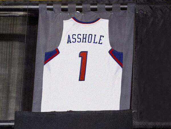 Clippers Retire Donald Sterling Jersey http://t.co/nLEKVJfOwJ http://t.co/OEjvkcxkj0