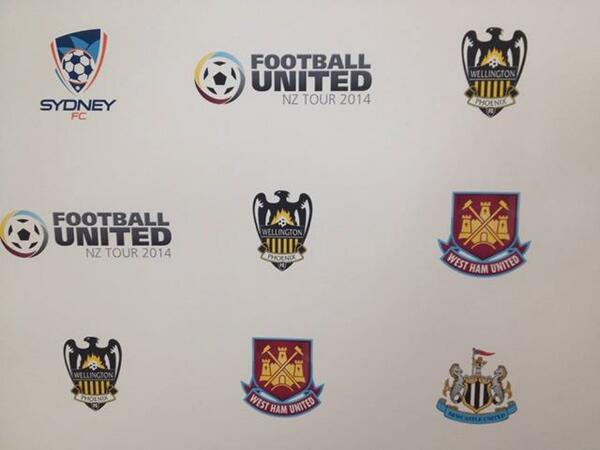 Football United is announced! West Ham, Newcastle United & Sydney FC will travel to NZ to play 3 games in July. #COYN http://t.co/6o4iqGyPDg