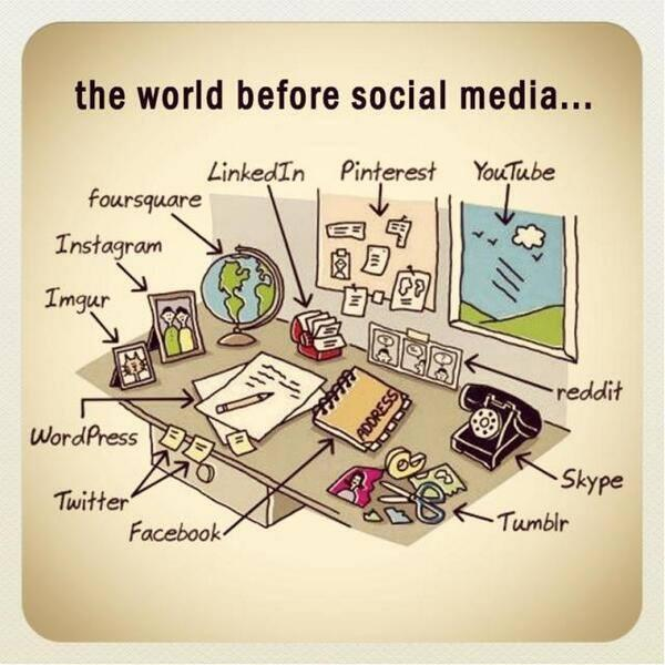 The #world before #socialmedia ;-) #funny #picture #comic #infographic http://t.co/RuLfplYTnT""