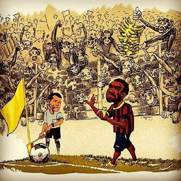 Bmcq6a2CcAE1Q17 APPALLING: Villarreal fined just €12,000 for racism directed at Barcelonas Dani Alves [Best Tweets]