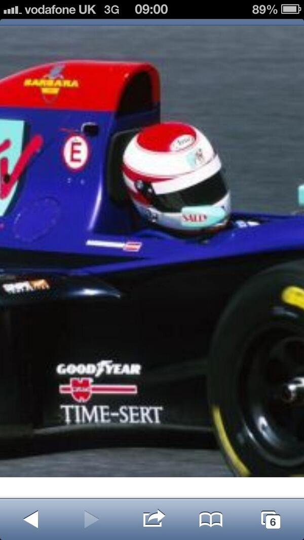 Remembering Roland Ratzenberger today - 20 years on http://t.co/RhPZP0bYUp