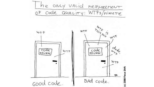 All code is bad, so don't stress if yours sucks: http://t.co/c5jLLOU46N http://t.co/ehS1LwMPr1