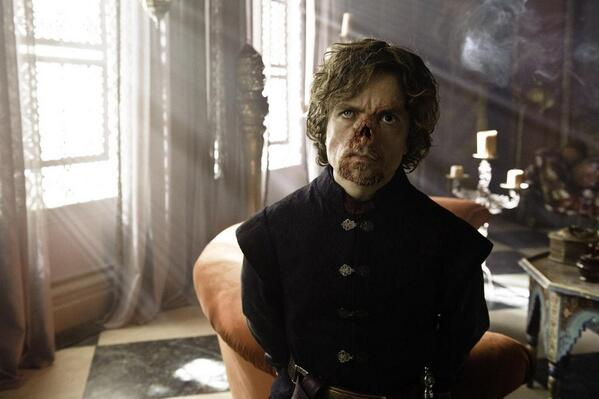 In the novels Tyrion is much less attractive than on @GameOfThrones: http://t.co/FHghP7HIfr