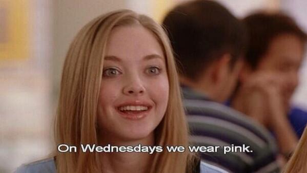 It's been 10 years since Mean Girls was released and it's Wednesday so... #MeanGirls10thAnniversary http://t.co/FhgyU5bl2L