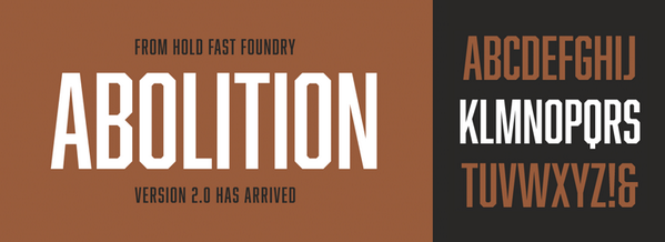New on http://t.co/SnDPcwMVEV - fonts from The Hold Fast Foundry! http://t.co/AcKHuQmXYt @holdfastfd http://t.co/7kcpD3ihIz