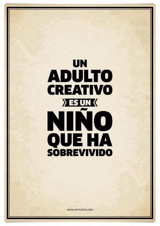 Se creativo, se un loco en tus ideas por que ningun cuerdo a cambiado el mundo como lo han hecho los locos. http://t.co/zMao3ncoqh