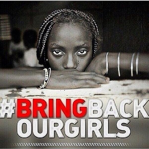 It's been two weeks since the kidnapping of 234 Nigerian girls and they still aren't home #bringbackourgirls http://t.co/8OiC5GJPrc