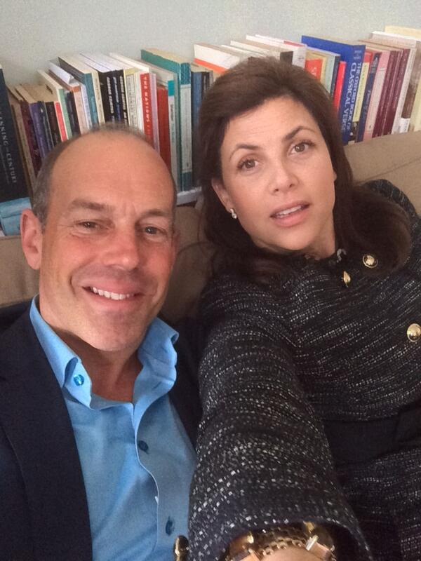 """My first ever """"selfie"""" alongside @KirstieMAllsopp whilst filming #LLL in Tunbridge Wells http://t.co/PWHI7Bwr9M"""