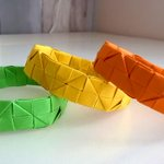 Image of origami from Twitter