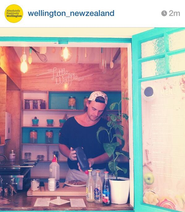 The newest addition to Courtenay Place is The Little Waffle Shop #waffles #yum #wellington http://t.co/rMAvkvSORE http://t.co/XYvmajFby1