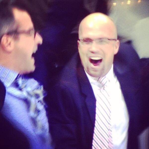 This moment...way to go coach! @mnwild #ItsPlayoffSeason http://t.co/6VPHr94tMe