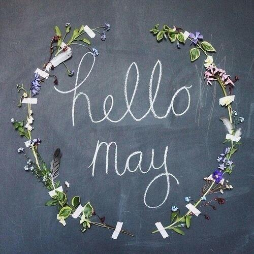 Pinch... Punch....first day of the month!! ;) Hello May!! http://t.co/Sa8nmYvE1Q