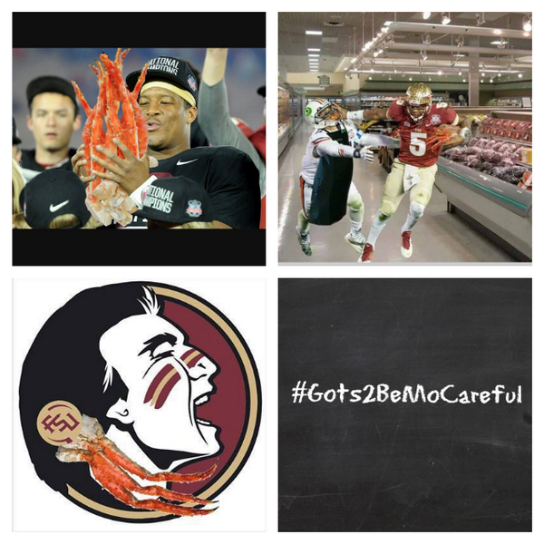 FSU qb Jamise Winston had a small run in w/the law. And the Internet has not been very kind to him. #Gots2BeMoCareful http://t.co/TiSrWenKLa
