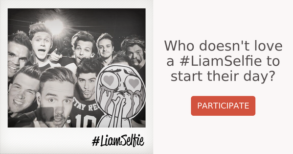 http://t.co/aEineq72Ca @Real_Liam_Payne Who doesn't love a #LiamSelfie to start their day? #urturn http://t.co/8e4SgmwGWk