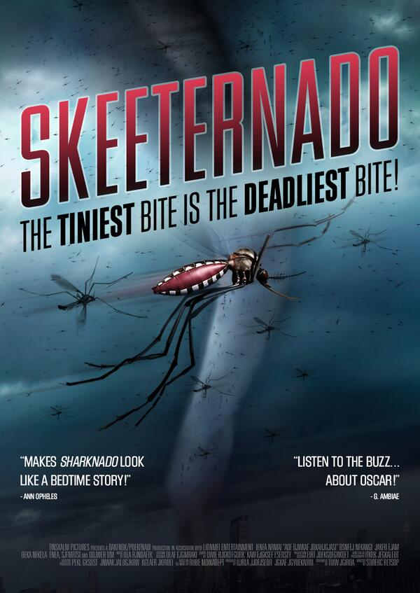 If you liked #Sharknado, check out this blockbuster from the @Gatesfoundation and @BillGates. #MosquitoWeek http://t.co/EIqcgRlZPo