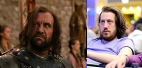Another, not as good. #GoTPoker @ChadAHolloway @f5poker Sandor Clegane = Steve O'Dwyer http://t.co/xOePhyN0I3