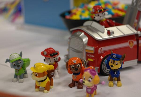 @SpinMasterToys Great pics of #PawPatrol toys. Here's one of mine that I took at #TF14 #SpinMasterToys #TTPM http://t.co/zTSn5JrGIz