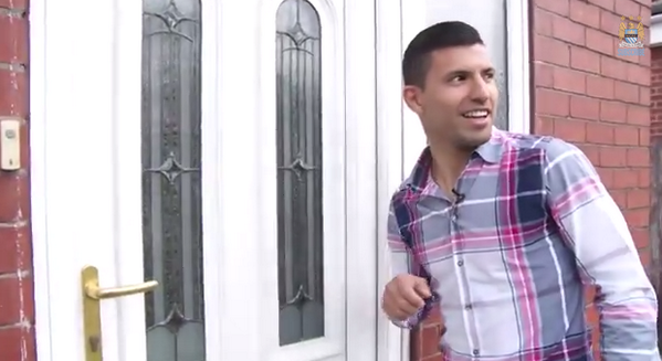 BmjD4EdCUAAzC0A Sergio Aguero surprises Man City fan by personally delivering the job of his dreams