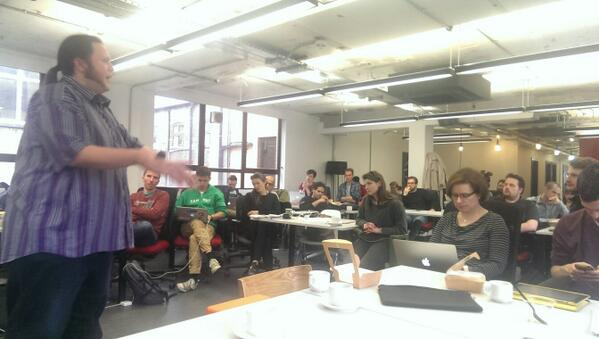 Lean UX =! No deliverables. But rather, deliverables only when they provide real value / @adrianh #CampusLondon http://t.co/3ENNKhxXgQ
