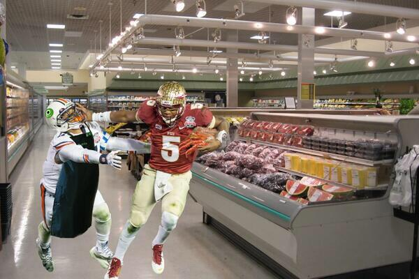 Winston's best performance yet juking the fresh seafood old lady at Publix!! http://t.co/LgV6Le29FV