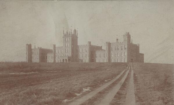 #NIU's Altgeld Hall circa 1899! #TBT http://t.co/Y3Ec4HiL13