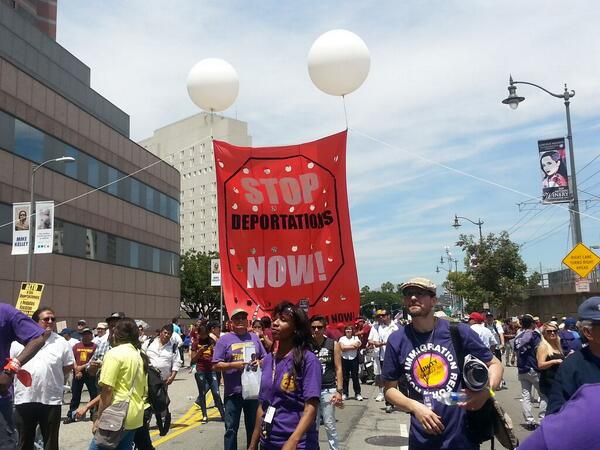 Clear msg today at #mayda4all #timeisnow 4 #immigration reform http://t.co/gak9ABzwEm