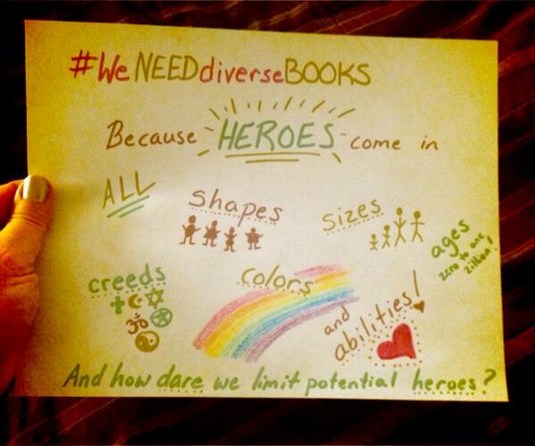 Why #WeNeedDiverseBooks --in my opinion. ;) http://t.co/3I4vsoCJie