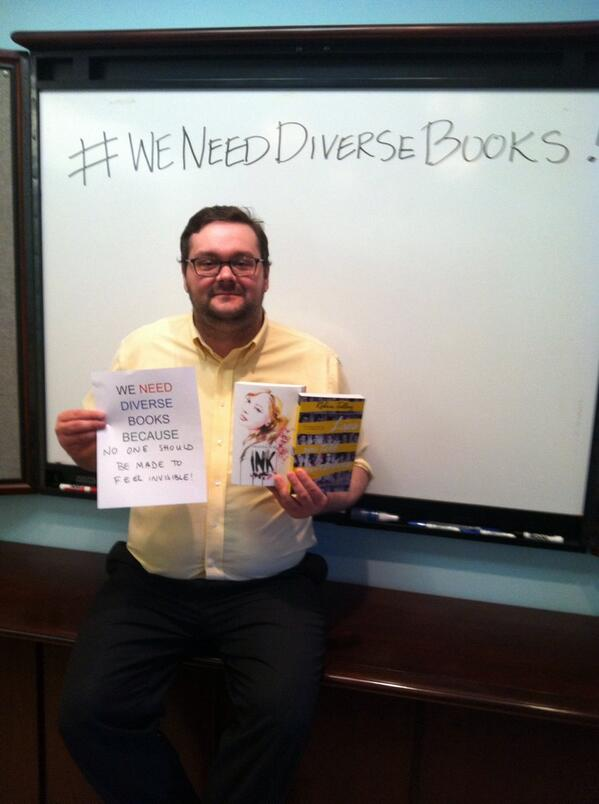 #WeNeedDiverseBooks because no one should be made to feel invisible! http://t.co/pbaLj9HbXY