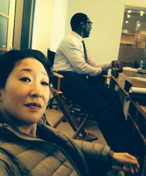 RT @IamSandraOh: Yes indeedy, Burke is back. http://t.co/WBsmCN3Yv7