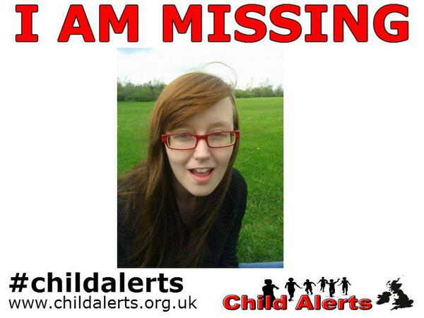 16 year old girl #missing from #Leeds Jennifer Scriven. http://t.co/FUh444B8tL http://t.co/UNKyVXgzGz