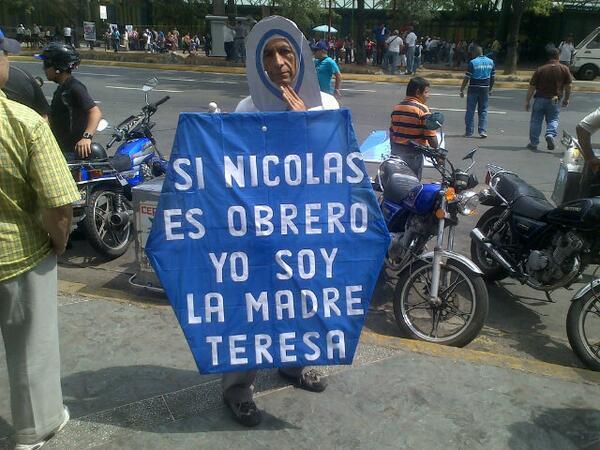 Traffic TACHIRA (@trafficTACHIRA): via @MarcosAgurto: ORIGINALIDAD EN LA MARCHA http://t.co/gkirK8TnIX