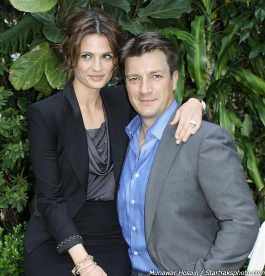 #throwbackthursday Stana Katic & Nathan Fillion in 2010 http://t.co/cYAkYxQsjA #stanakatic #castle #tbt http://t.co/bAhztSbidK