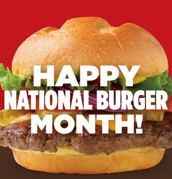 May is the best month of the year...why you ask?? #NationalBurgerMonth http://t.co/9XUnGw7y0A