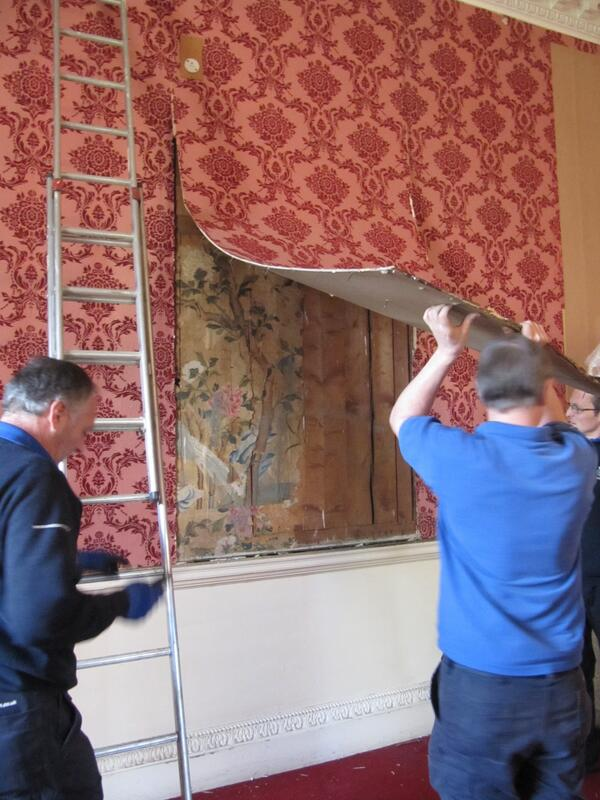 18th c. Chinese wallpaper found at Woburn Abbey | The History Blog http://t.co/ODJ2uOiHnb http://t.co/4qU375gT65