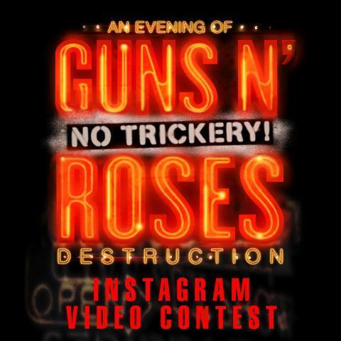 Post a video on Instagram. Win a VIP @gunsnroses experience in Vegas. It's that easy! Details: http://t.co/2E0nifn14b http://t.co/DbjUvY514d