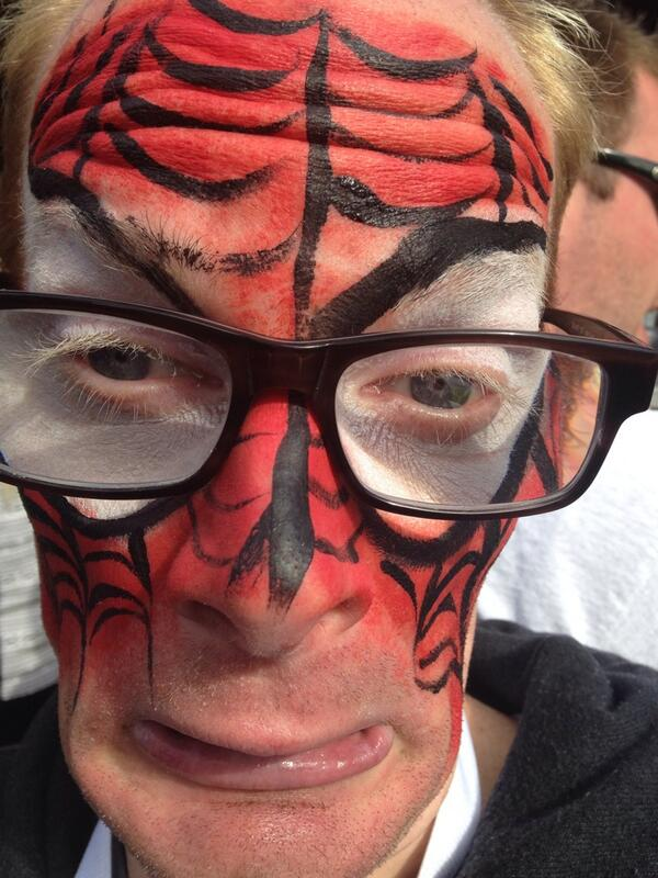 The Real SpiderMan bitches!! #MedicatedSpiderman #Spiderman2Premiere #SpiderMan #MedicatedPete #getmedicated http://t.co/RvzLci0yvt