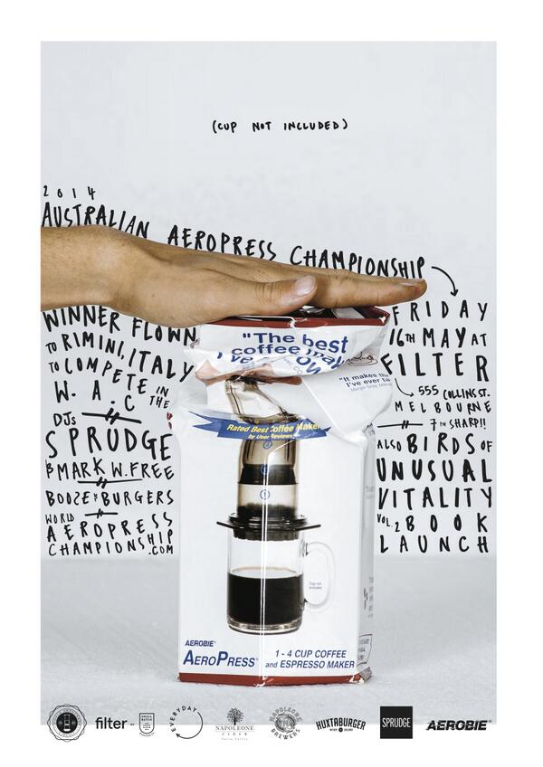 2014 Australian Aeropress Championships http://t.co/5BF6T6NVhk with @sprudge @filterbysb @eileenpk @everydaycoffee_ http://t.co/St1Rr2ZQKX