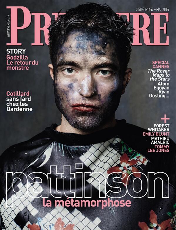 Robert Pattinson se métamorphose ! Notre numéro spécial Cannes sera en vente dès mercredi prochain ! http://t.co/h9Fn80J28p