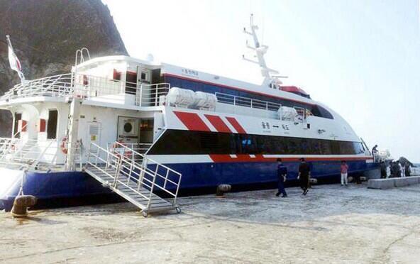 ผวา! เรือเฟอร์รี่ Dolphin ในเกาหลีใต้ ออกเรือไป 2 ชั่วโมง เครื่องยนต์พังไปหนึ่ง รีบโร่พาผู้โดยสาร 400 คนกลับฝั่ง http://t.co/PCT0NTsEAK