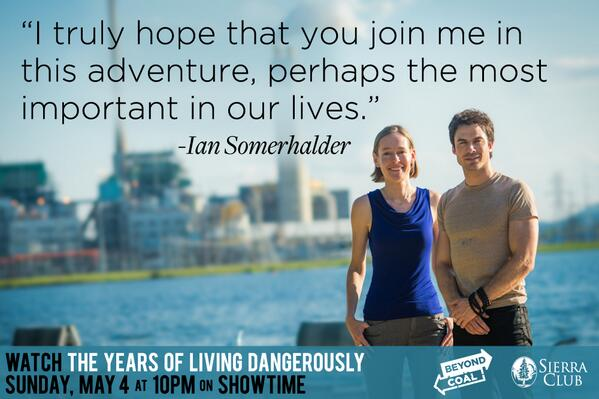 Watch @annajanejoyner, @iansomerhalder, & @maryannehitt in @YEARSofLIVING TONIGHT on @SHO_Network! #YearsProject http://t.co/PooYytaszi